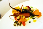 Carrot – iranian pistachio, whipped mascarpone, carrot top